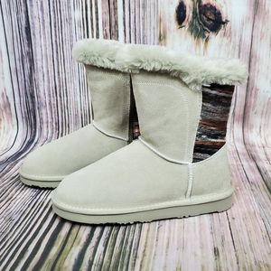 Lamo Dove Willow Suede Water Stain Resistant Boots